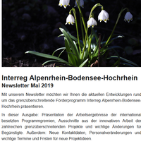 Newsletter Interreg ABH
